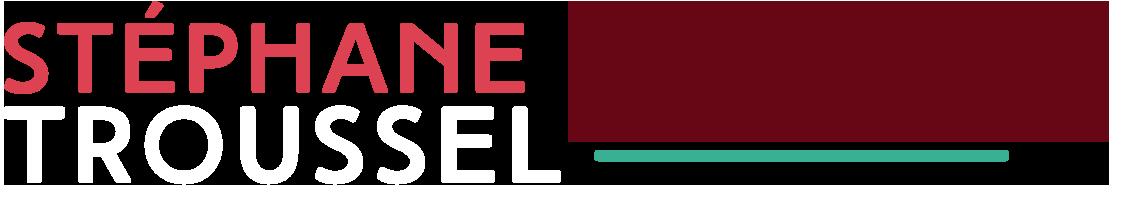 Stéphane Troussel, logo