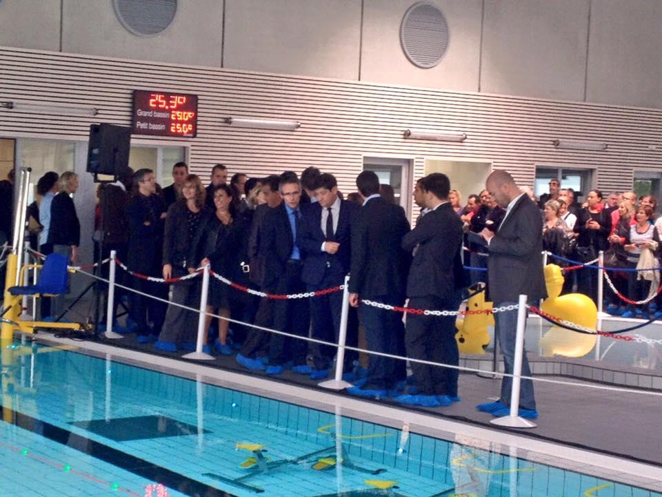 Inauguration de la piscine Rosa Parksà Clichy sous Bois Le blog de Stéphane Troussel # Piscine Clichy Sous Bois